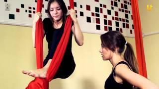 Выбирай спорт #13. Воздушная акробатика на полотнах