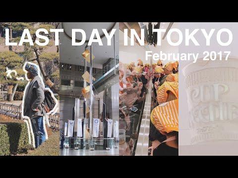 FINAL DAYS of MY JAPAN TRIP- NOODLES & FERRIS WHEELS (Cup noodle musuem, garden, harajuku & more)