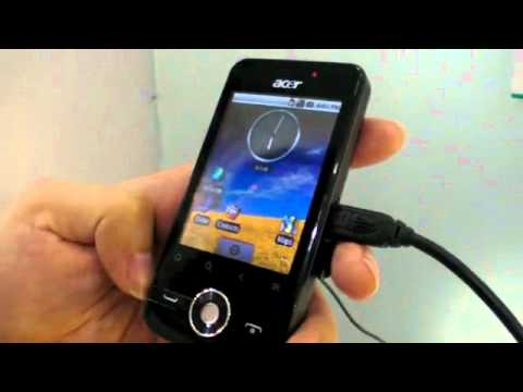 Acer beTouch E120 -Free Software Downloading