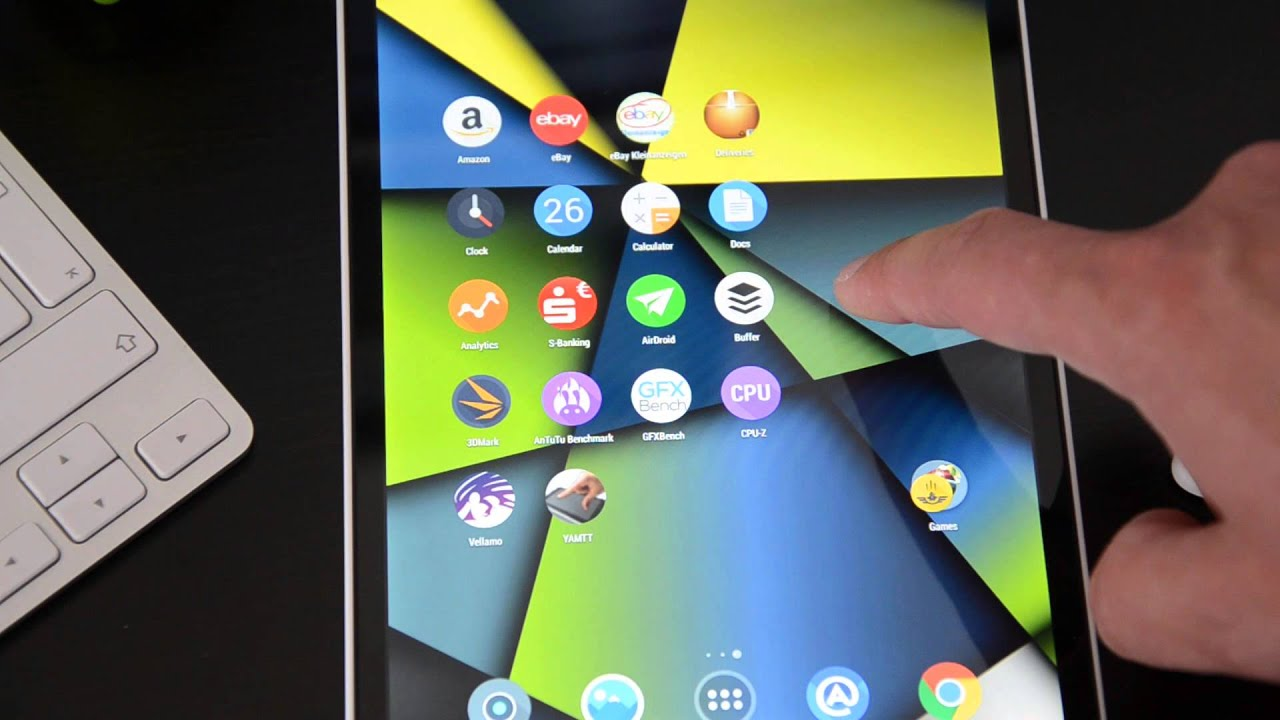 Xiaomi Mipad Retina Display Nvidia K1 Full Review Deutsch