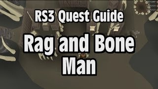 RS3: Rag and Bone Man Quest Guide - RuneScape
