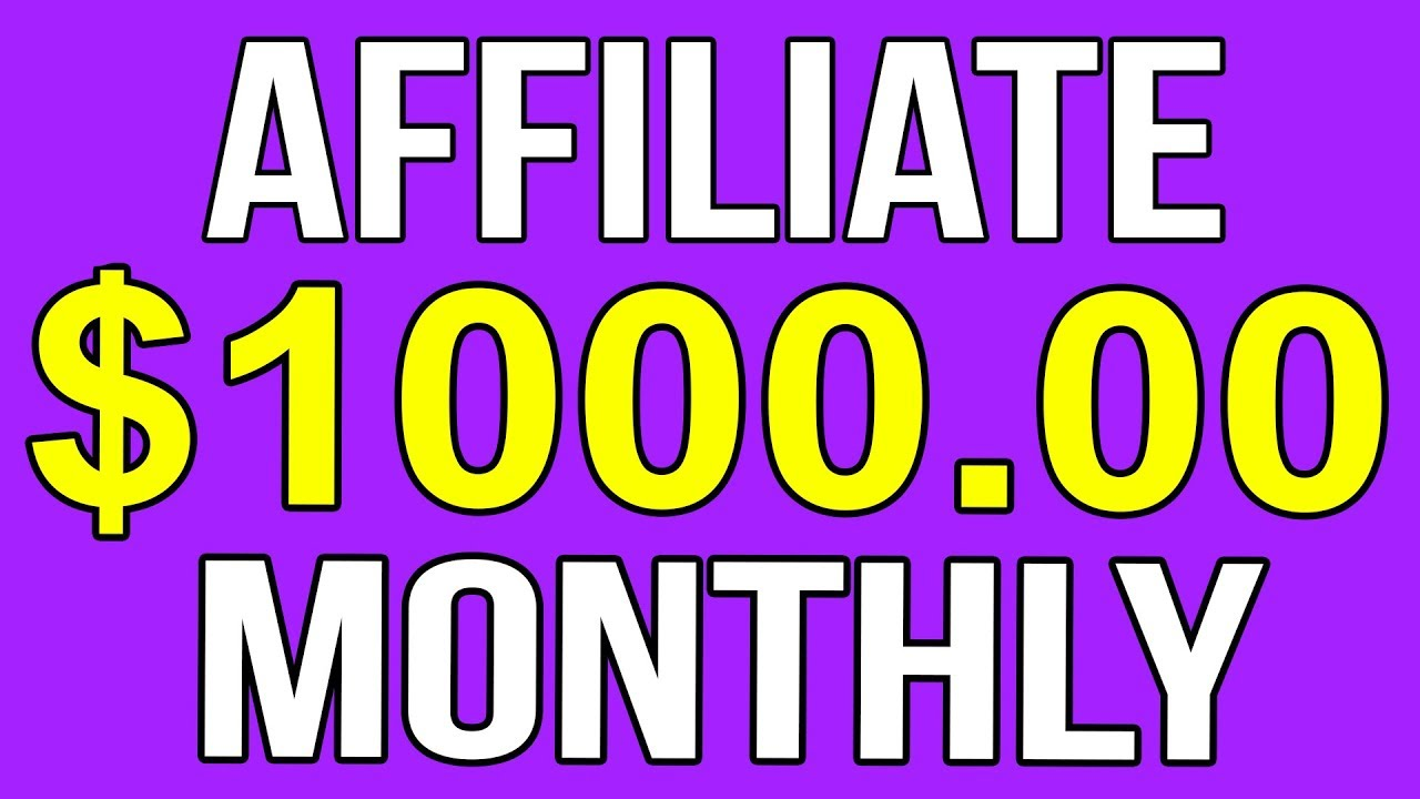 Affiliate Marketing Startup Guide For BEGINNERS: How To Make $1000 Per Month LONGTERM