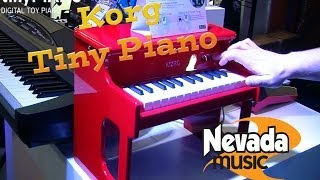 Korg Tinypiano Toy Piano - Exclusive First Uk Demo