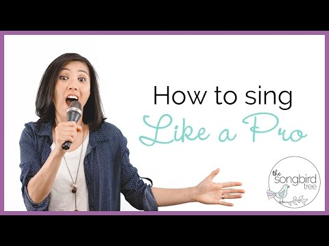 Singing Tutorial: How to Sing Like a Pro