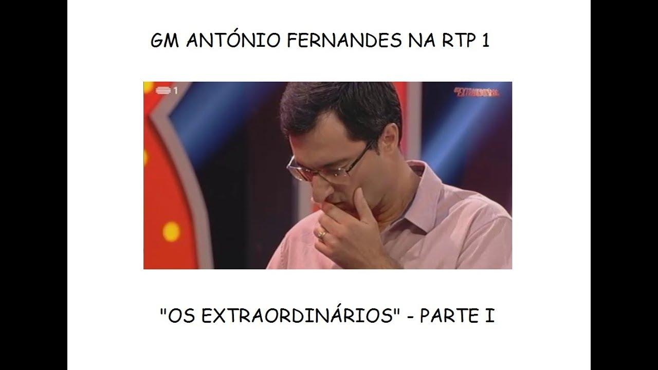 XADREZ - GM ANTÓNIO FERNANDES N'