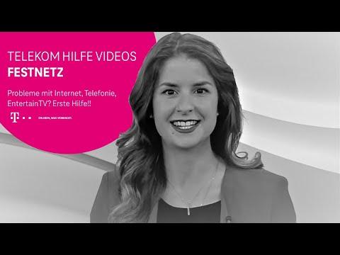 Social Media Post: Telekom: Probleme mit Internet, Telefonie, EntertainTV? Erste Hilfe!