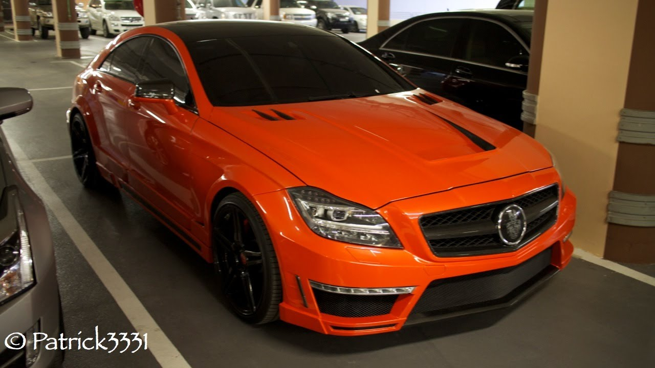 Mercedes Cls 63 Amg Stealth By Gsc 750hp 1150 Nm Of