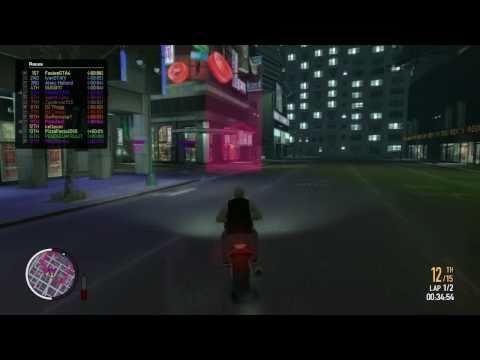 GTA EFLC: Rockstar Social Club Multiplayer Event - Bike Race