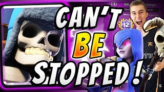 WOW! WITCH CLONE + GIANT SKELETON IS UNSTOPPABLE! — Clash Royale