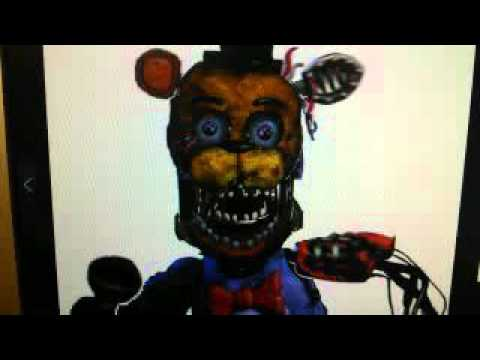 Withered Hybrid Sings Fnaf Youtube