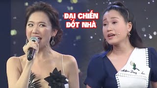 Hari Won và Lâm Vỹ Dạ 'chị em tương tàn' khiến Trấn Thành và Hứa Minh Đạt cười hả hê