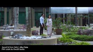 Gambar cover (OST LELAKI ITU PEMILIK HATIKU) Syamel & Ernie Zakri - Aku Cinta (Lyric Video)