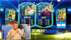 ICH ZIEHE RONALDO TOTS oder MESSI TOTS IN MEINEN REWARDS 🔥🔥🔥 FIFA 20 TEAM OF THE SEASON PACK OPENING