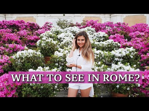 💓 What To See In Rome? TOP 30 Must See Attractions & Places 🤩