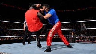 The Great Khali vs. Mark Henry - Raw, March 26, 2012