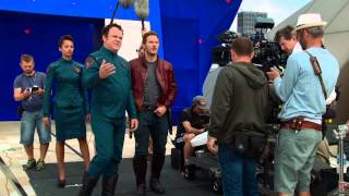 Marvel's Guardians of the Galaxy: Behind the Scenes (Movie Broll) Part 2