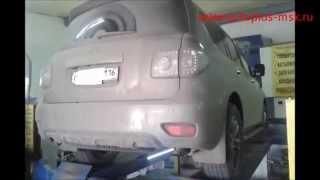 Ремонт и замена катализаторов Nissan Patrol 5.6 на пламегасители