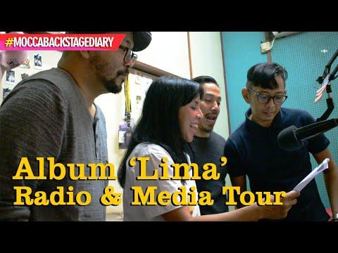 #MoccaBackstageDiary - Album Lima Mocca, Radio & Media Tour