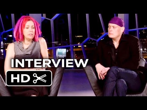 Jupiter Ascending Interview - Lana and Andy Wachowski (2015) - Channing Tatum Movie HD
