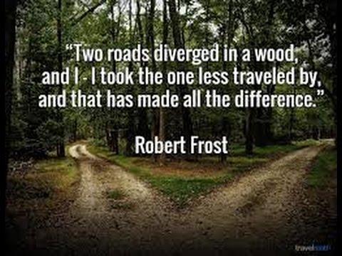 Robert Frost - Great Poet!