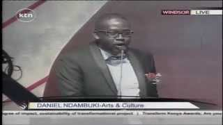 Transform Kenya Awards: Churchill moves the crowd with a powerful speech while he wins