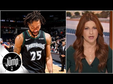 Rachel Nichols reacts to Derrick Rose redemption narrative after 50point game  The Jump