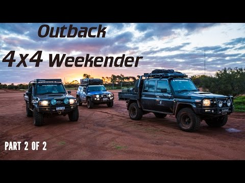Outback 4x4 Weekender, part 2