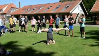 Ny start på Vesterlund efterskole 12/13 - Spring på græs