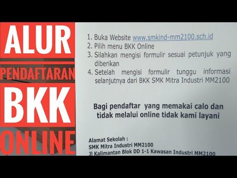 Pahami alur rekrutment sebelum Melamar kerja di BKK ONLINE SMK Mitra Industri MM2100
