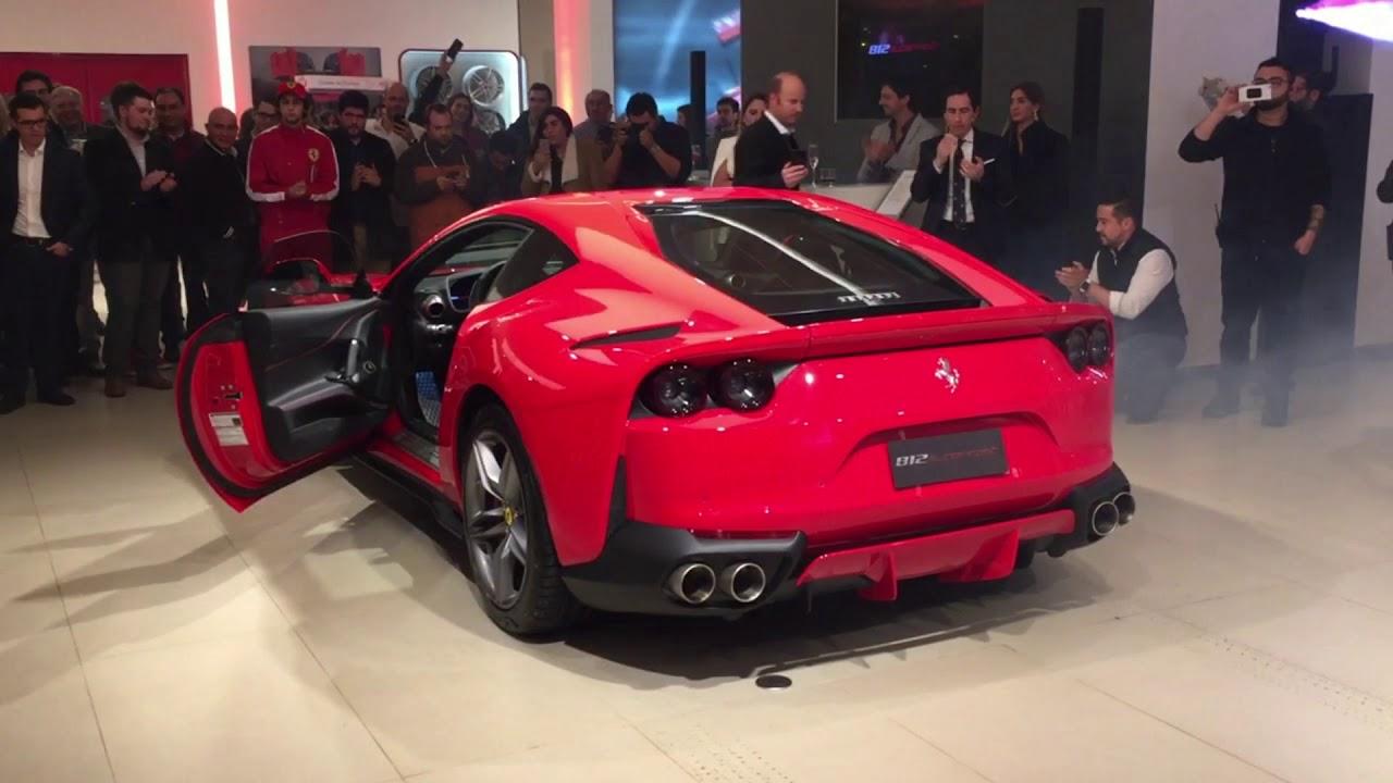 Ferrari 812 Superfast Chile Youtube