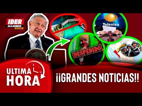 4 SUPER NOTICIAS DIÓ AMLO HOY LUNES A LOS MEXICANOS (LA 3RA TE HARA LLORAR) NO LO PODRÁS CREER!!