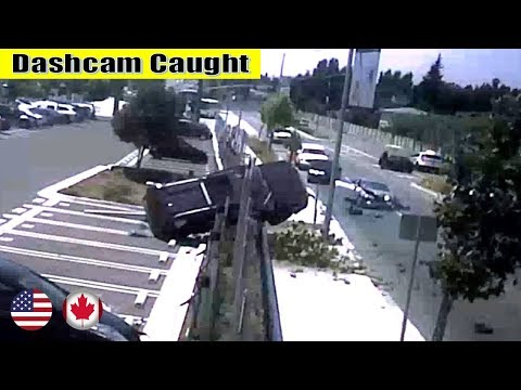 Ultimate North American Cars Driving Fails Compilation - 83 [Dash Cam Caught Video]