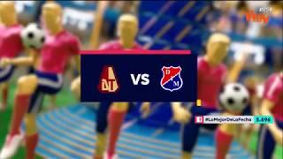 Tolima vs Medellín - Mejores jugadas - Fecha 10 Liga Aguila II 2018