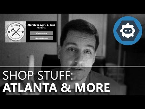 March 2017 Shop Stuff - Atlanta Woodworking Show, T-Shirts, & 3D Printing