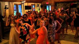 Surprise Flash Mob at the Marquette Wedding in Rome, NY!