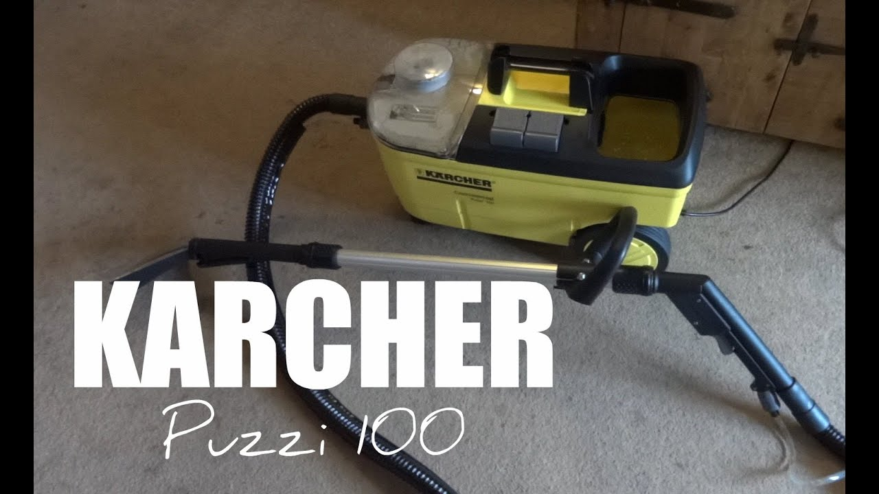 Karcher Puzzi 100 Carpet Cleaner Full Review Youtube
