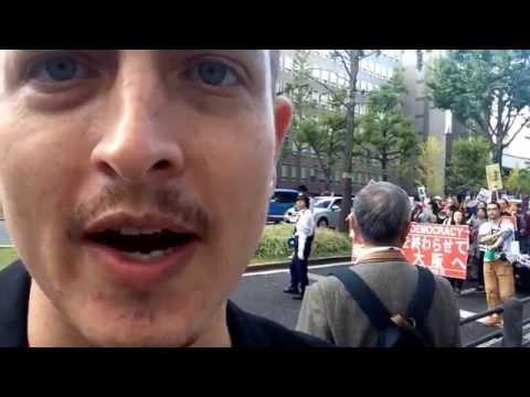 Protest in Osaka!!!
