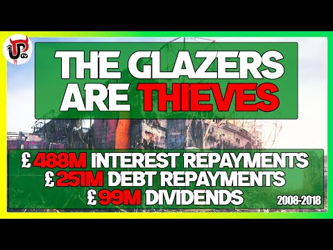 Proof The Glazers Are THIEVES As Man Utd's Owners