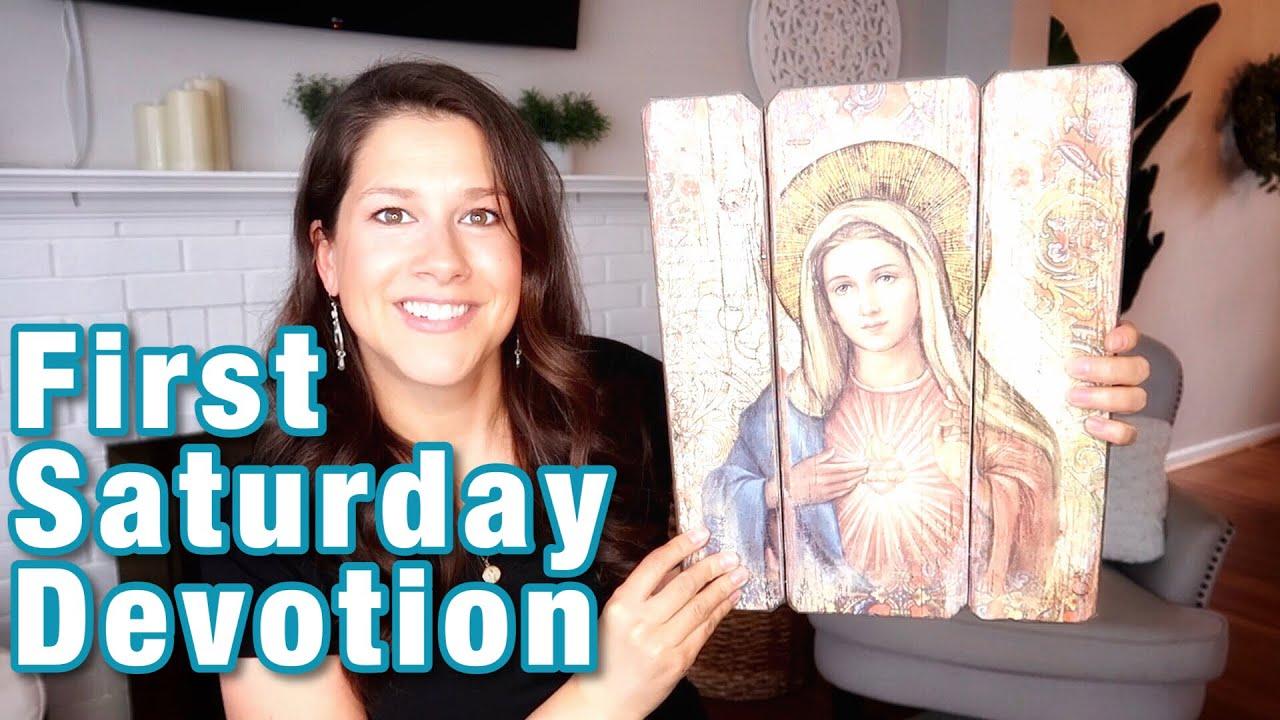 ROSARY DEVOTION ~ FIRST SATURDAYS DEVOTION    CATHOLIC PRAYERS