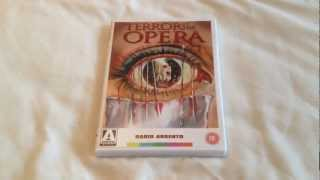 Terror at the opera dvd unboxing