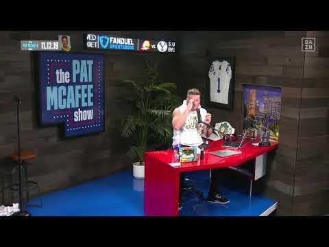 The Pat McAfee Show   Tuesday, November 12