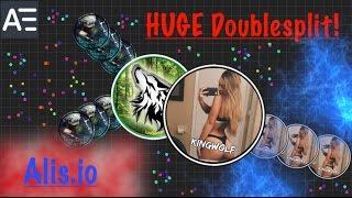 Alis.io / Dual Agar *HUGE* Doublesplits! // Crazy Moments!
