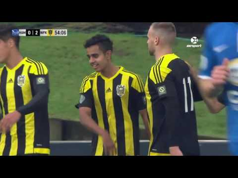 Stirling Sports Premiership Round 17 | Hamilton Wanderers 1-3 Wellington Phoenix U20