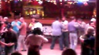 Line Dance lesson Barn Dance