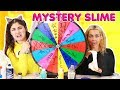 MYSTERY WHEEL OF SLIME PT.3 WITH MOM ~ RANDOM BAD AND GOOD SLIMES ~ Slimeatory #362