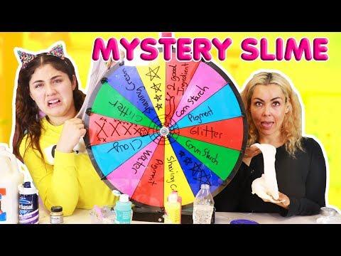MYSTERY WHEEL OF SLIME PT.3 WITH MOM ~ RANDOM BAD AND GOOD SLIMES ~ Slimeatory #362