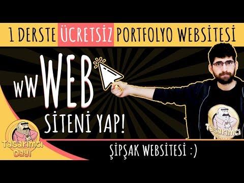 KENDİ WEB SİTENİ YAP! (ÜCRETSİZ) Portfolyo Web Sitesi Nasıl Yapılır?