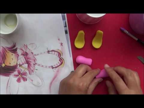 Video aula gratuita - Boneca Marina do Mundo da Massinha!