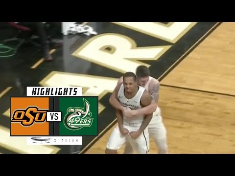 Oklahoma State vs. Charlotte Basketball Highlights (2018-19) | Stadium