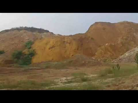 Bijoypur white clay mine Durgapur